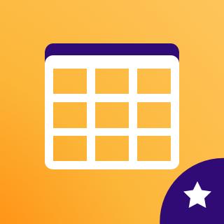 Icon: Tables Pro
